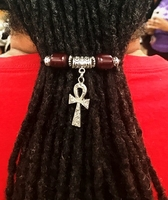 Men Dreadlock Ties Holders
