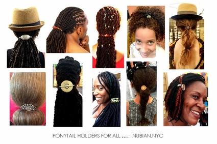 Ponytail Holders Dreads Locs Natural Thick Hair