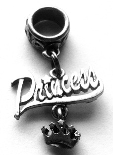 Princess Crown Loc Charm