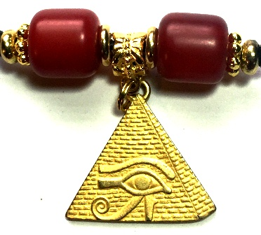 Pyramid Eye Dark Red