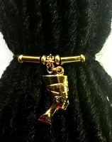 Queen Nefertiti Gold Ponytail Holder 1
