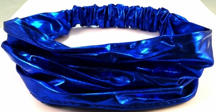 Royal Blue Metallic Headband
