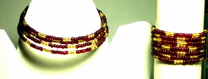 Ruby Gold Set