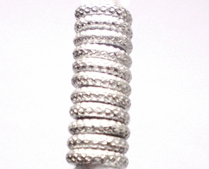 Silver Braid Plain Tube