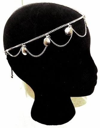 Silver Coins Headdress