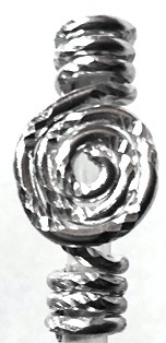 Silver Fleck Coil Tower