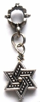 Star of David Loc Hair Charm
