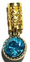 Turquoise Facet Crystal Birthstone