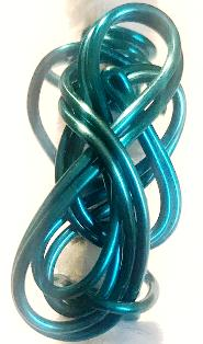 Turquoise Wire Wrap Hair Jewelry