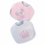 "Baby Aspen ""Little Princess"" Bibs Set of 2"