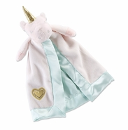Baby Aspen Unicorn Plush Rattle Lovie Blankie