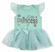 Baby Ganz Little Princess Diaper Shirt Tutu Dress 0-6 Months