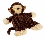 Baby Ganz Monkey Flat-a-Pat Blanket - Dark Brown