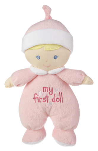 baby ganz my first doll 9quot plush toy hearts desire gifts