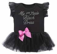 Baby Ganz My First Little Black Dress 6-12 Months