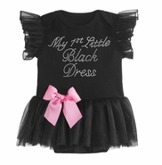 Baby Ganz My First Little Black Dress 0-6 Months