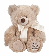 "Baby Ganz My First Teddy Bear 8"" - Tan"