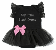Baby Ganz My Little Black Dress 6-12 Months