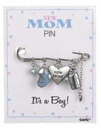 Baby Ganz New Mom Pin - It's a Boy