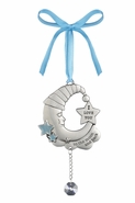 Baby Ganz Ornament - Love you to the Moon and Back - Blue