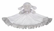Baby Ganz Over the Moon Lamb Mini Blankie Snuggler 12""