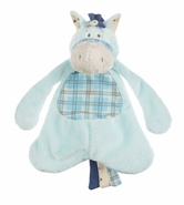 Baby Ganz Wee Western Horse Pacifier Cozy - Blue