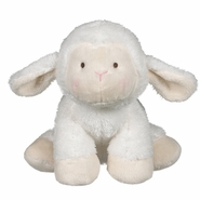 Baby Ganz Wuzzies Lamb Plush Toy 8""