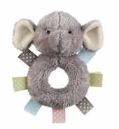 Baby Ganz Wuzzies Rattle - Elephant