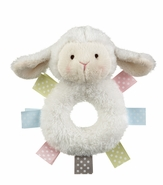 Baby Ganz Wuzzies Rattle - Lamb