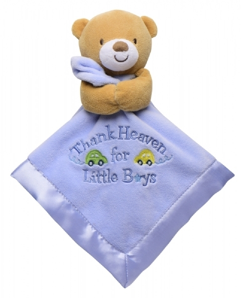 Baby Starters Snuggle Buddy Thank Heaven For Little Boys