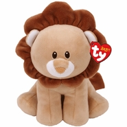 """Baby TY Bouncer Brown Lion 7"""""""