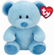 """Baby TY Lullaby Blue Bear 7"""""""