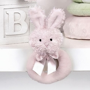 Bearington Baby Lil Bunny Ring Rattle