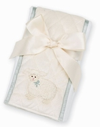 Bearington Baby Little Lamby Burp Cloth