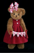 Bearington Collection Bears Adora Valentine Bear - 14""