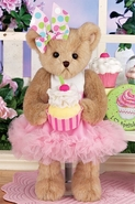 Bearington Bears Collection Candy Cupcake - 14""