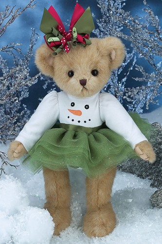 Bearington Bears Finley Flurry Christmas Bear 14""