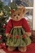 Bearington Bears Holly Holiday Bear 14""
