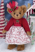 Bearington Bears Merry Mint Christmas Bear 14""