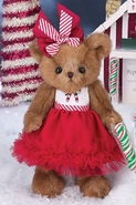 Bearington Bears Pippa Mint Christmas Bear 10""