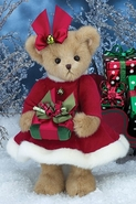 Bearington Bears Proper Presents Christmas Bear 14""