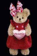Bearington Bears Sweetie Heart Valentine Bear - 10""