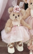 Bearington Collection Tiny Toeshoes Ballerina Bear - 10""