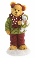 Boyds Bears Holiday Goodfriends Haley and Berg Figurine