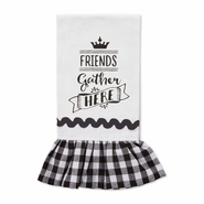 Brownlow Farmhouse Kitchen Tea Towels - Friends Gather Here