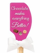 Brownlow Kitchen Spatulas - Chocolate makes everything Better