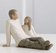 Willow Tree Father and Daughter by Susan Lordi