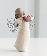 Willow Tree With Love Angel with Heart Figurine