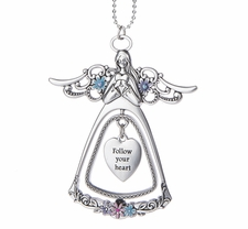 Ganz 3D Angel Car Charms - Follow your heart