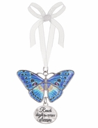 Ganz Blissful Journey Butterfly Ornament - Reach high for EVERY dream